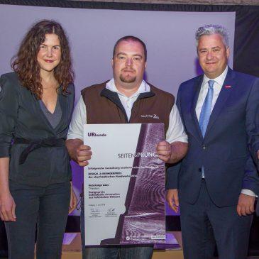 Holzdesign Zaus mit Design- und Erfinderpreis ausgezeichnet