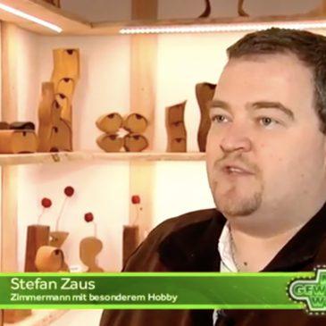 Holzdesign Zaus bei TV Oberfranken