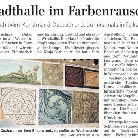 Holzdesign in der Märkischen Allgemeinen Zeitung