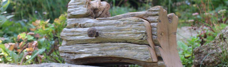 "Kästchen aus ""Backöfele""-Holz"
