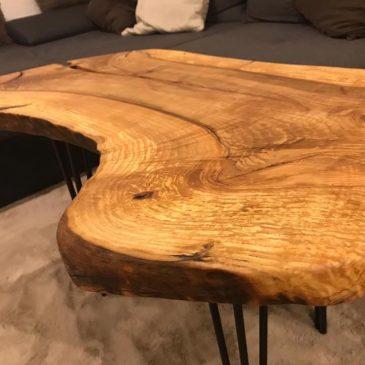 Wunderschöne Tischplatte aus Eiche