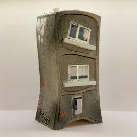 """Berliner Hochhaus-Kästchen """"Street Art"""" mit 3 Schüben"""