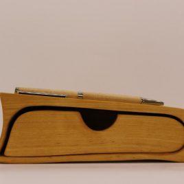 Bürokästchen mit Stiftablage aus Birke inkl. Stift