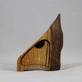 Kästchen aus Esche mit einem Schub