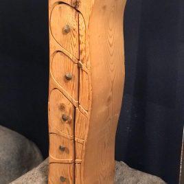 Großes Kästchen aus ca. 200 Jahre alter Fichte