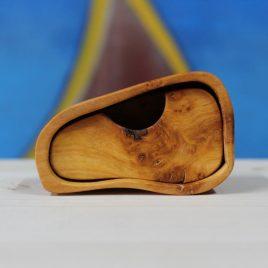 Kästchen aus Erle mit einem Schub