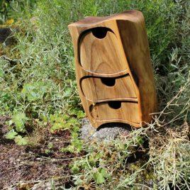 Kästchen aus Nussbauem mit Geheimfach
