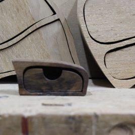 Kästchen aus Nussbaum