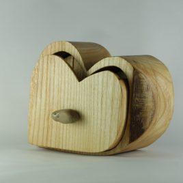 Holzkästchen aus Esche