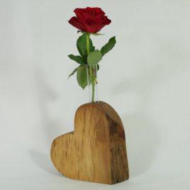 """Vase """"Herz"""" aus Birne"""