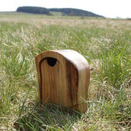 Kästchen aus Birke mit Geheimfach