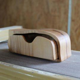 Kästchen aus Rest-Holz